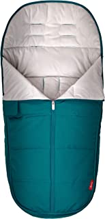 Diono All Weather Footmuff to Protect Your Baby in Car Seats & Strollers, Blue Turquoise