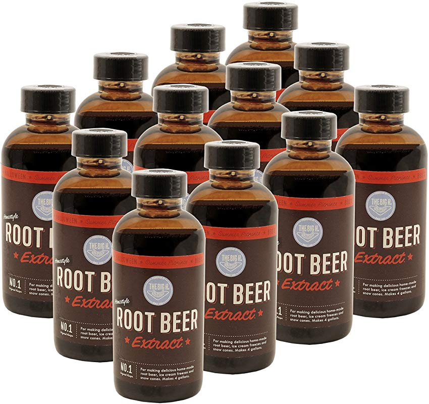 Hires Big H Root Beer Extract Make Your Own Root Beer 12 Pack