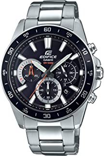 Casio Men's Edifice Quartz Watch with Stainless-Steel...