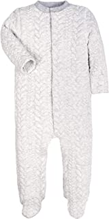 Baby Boys Girls Warm Winter Long-Sleeve Footed Pajamas Sleeper Rompers 471b45931