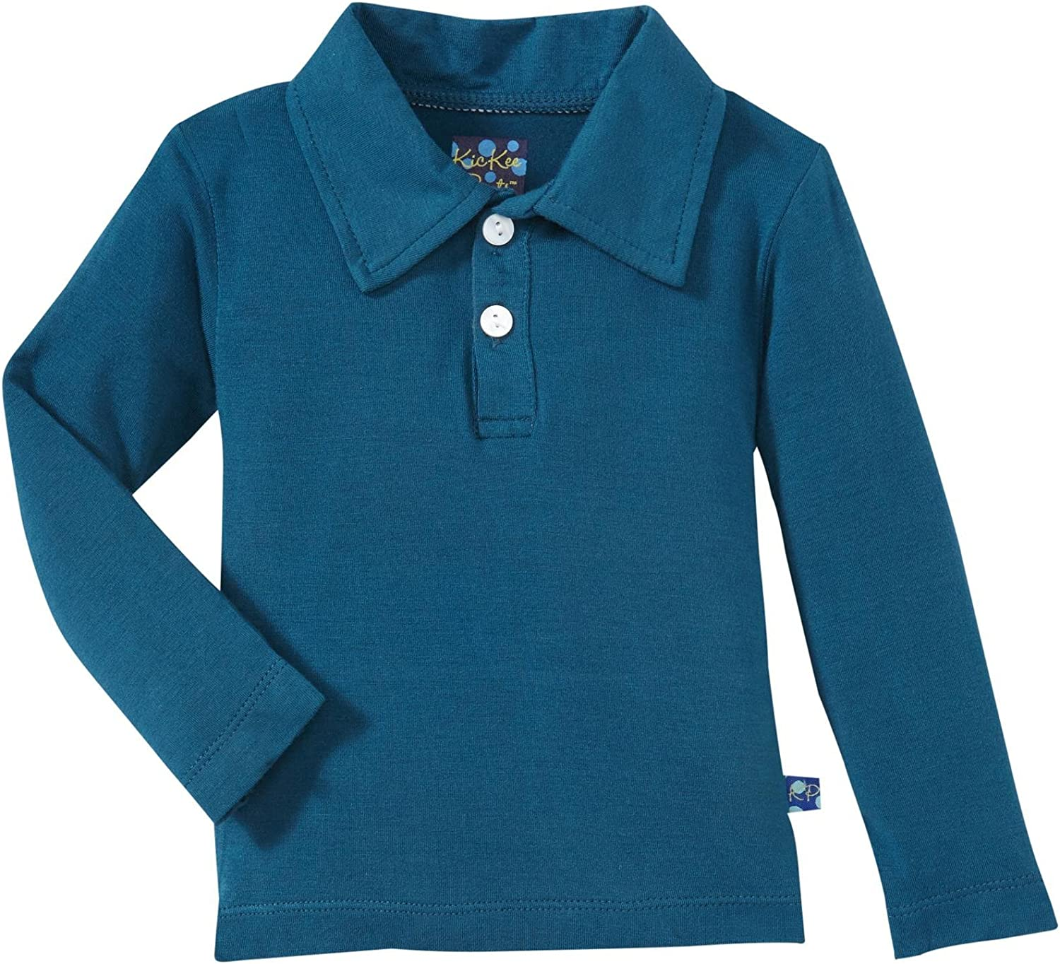 KicKee Pants Baby Boys' Polo (Baby) - Peacock - 12-18 Months