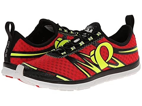 Pearl Izumi Em Tri N 1 Black/Firey Red D - Medium Men's Running Shoes 8082328