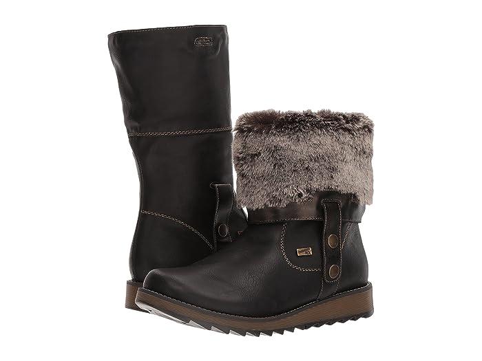 Rieker  D8874 Shanice 74 (Muskat/Antik/Sigaro) Womens Pull-on Boots