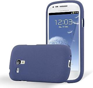 2a7f3113043 Cadorabo Funda para Samsung Galaxy S3 Mini en Frost Azul Oscuro - Cubierta  Proteccíon de Silicona