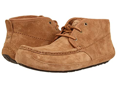 Mens Boots UGG Lyle Chestnut Suede '14
