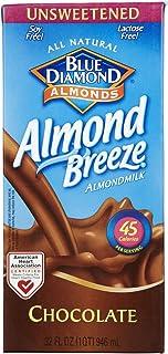 Blue Diamond Almond Breeze - Unsweetened Chocolate - 32 oz