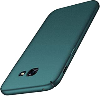SHIWELY Ultra Thin Samsung Galaxy A7 2017 Case,Hard Polycarbonate PC Slim Fit Silky Smooth Phone Cover Case with Matte Finish for Samsung Galaxy A7 2017 Case PCCSSHKbgreenssa72017