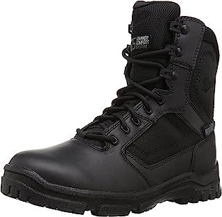 حذاء رجالي من Danner بسحاب جانبي 20.32 سم أسود عسكري وتكتيكي