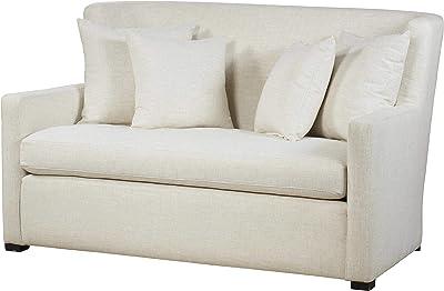 Amazon.com: Furniture of America Elsa Neo-Retro Love Seat ...