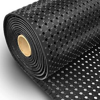 rutschhemmende Ringgummimatte L/änge bis 9.24 m w/ählbar Meterware 100x500 cm etm/® Gummil/äufer//Gummimatte Octo Roll