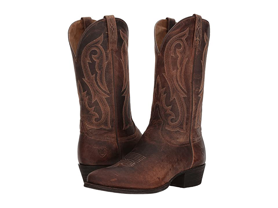 Ariat Circuit Round Toe (Warm Stone) Cowboy Boots