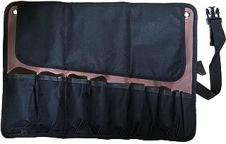 Beryland 10 Pocket Wrench Roll Up Tool Bag