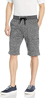 Southpole Men's Basic Marled Fleece Shorts