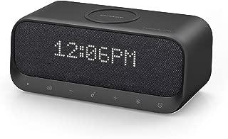 Anker Soundcore Wakey, Bluetoothスピーカー ワイヤレス充電器 Qi ラジオ 10W出力 目覚まし時計 iPhone & Android対応 デュアルドライバー ステレオサウンド