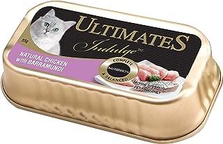 Ultimates Cat Pet Food Indulgence Responsibly Fished Tuna & Barramundi, 80 x 85g, 80 Piece