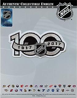 National Hockey League NHL 100th Anniversary Jersey Sleeve Logo Patch 2017 Season
