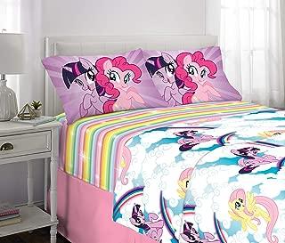 Franco Kids Bedding Super Soft Microfiber Sheet Set, 4 Piece Full Size, My Little Pony