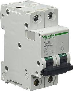 Schneider Electric 11940 Interruptor Automático Magneto Térmico 2P 40A 6Ka 400 V