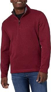 Authentics Men's Sweater Fleece Quarter-Zip