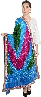Scarf Indian tradional shawl duppatta chunni stole long scarvesMulti