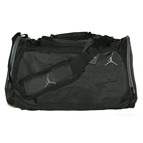 aa4bd6c147f Nike Air Jordan Black and Gray Duffel Gym Bag Sports Tote