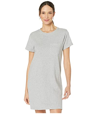 PACT T-Shirt Pocket Dress (Heather Grey) Women