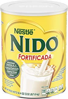 Nestle NIDO Fortificada Dry Milk, 3.52 Pound Canister by Nido