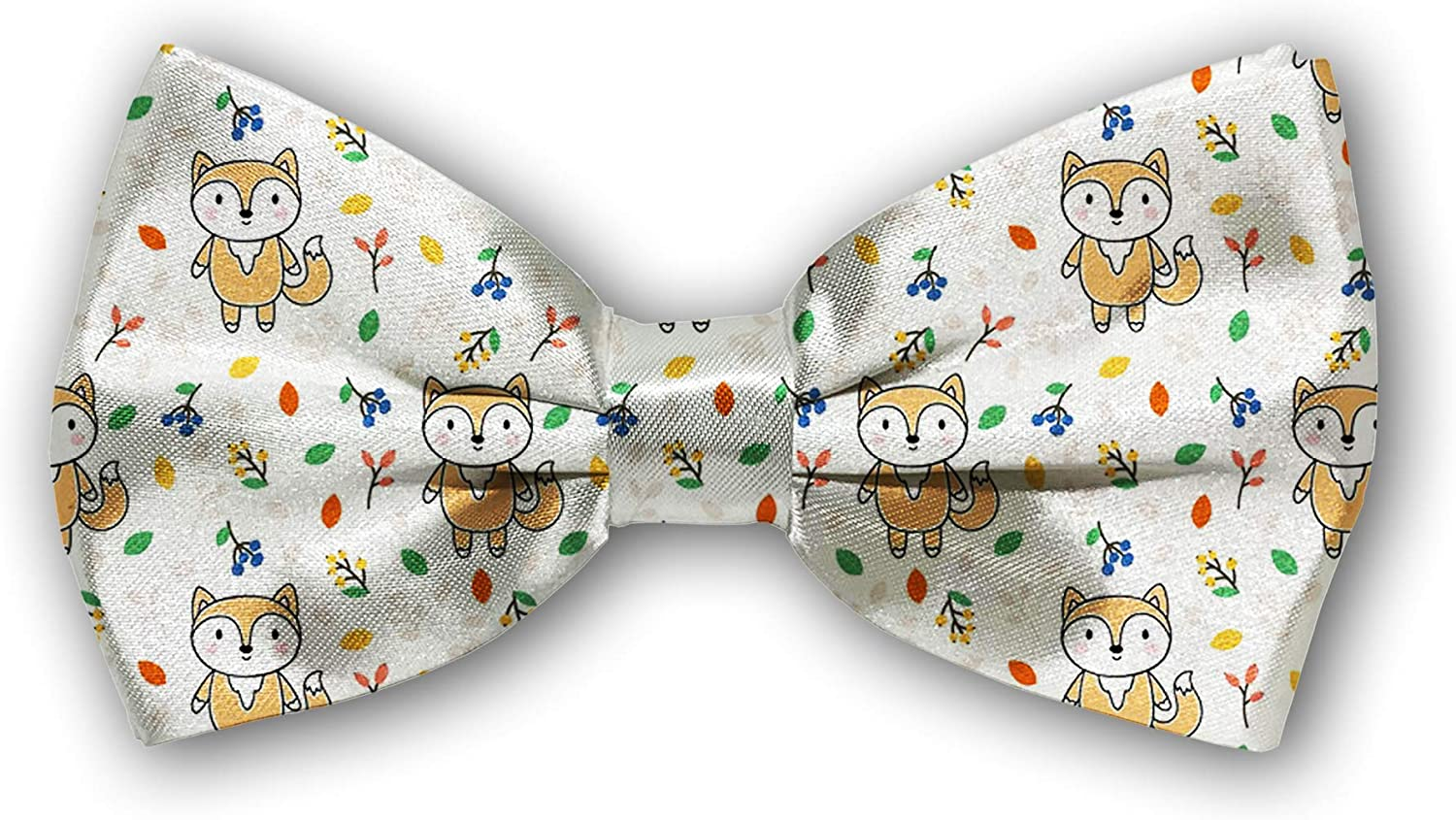 Genuine Bow Tie ! Super beauty product restock quality top! Tuxedo Butterfly Cotton Boys Mens for Bowtie Adjustable