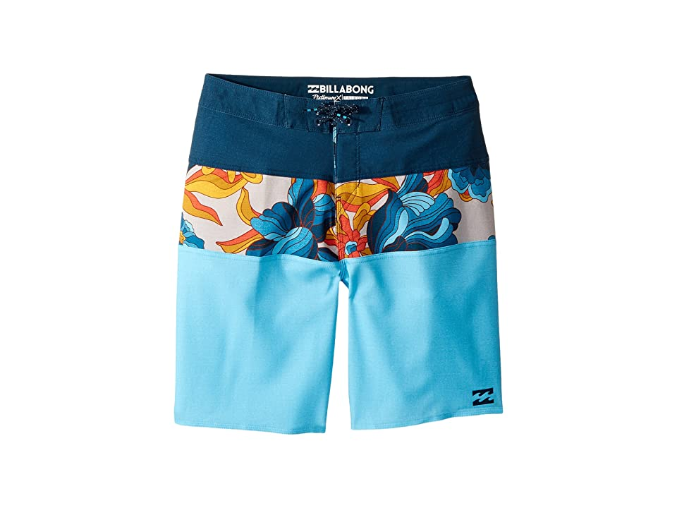 Billabong Kids Tribong X Boardshorts (Big Kids) (Coastal) Boy