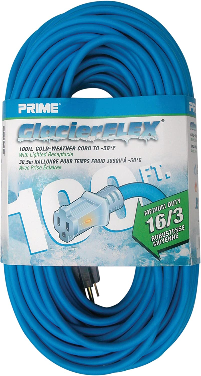 Prime CW511635 100-Foot 16 3 SJTW Cold Extensi Weather 50 Genuine Free Columbus Mall Shipping degree