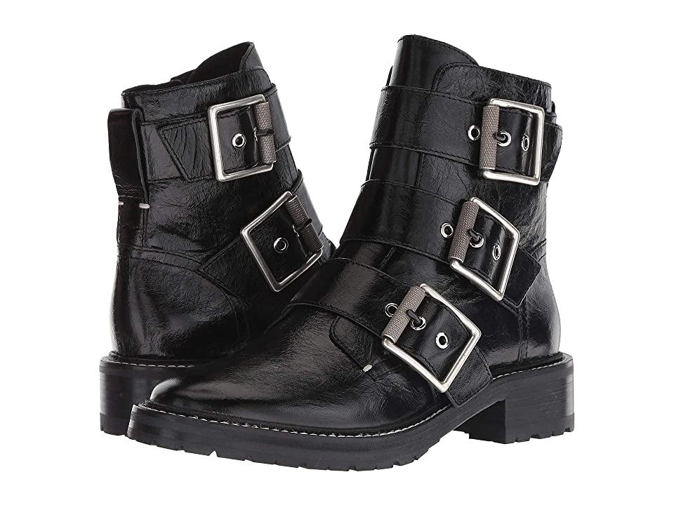 rag & bone Cannon Buckle Boot (Black) Women