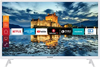 Telefunken XH32J511-W 32 inch televisie (Smart TV incl. Prime Video/Netflix/YouTube, HD ready, werkt met Alexa, Triple-Tun...