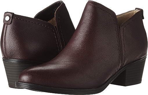 Aubergine Tumbled Leather