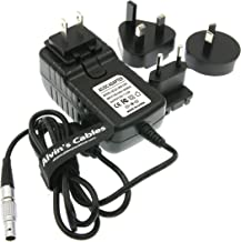Alvin's Cables Teradek Power Adapter Converter Cable 2 Pin to Universal AC with US UK EU AU Plugs for Teradek Cube Hollyland Cosmo 600