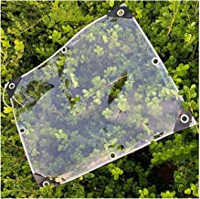 JIANFEI Transparant dekzeil kunststof afdekking, raambescherming isolatie regenbescherming, PVC zacht weerbestendig luifel...