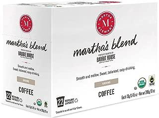 Martha Stewart Coffee Martha's Blend by Barrie House - Single Serve Capsules 22 count