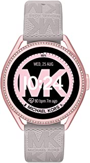 Michael Kors Women's MKGO Gen 5E 43mm Touchscreen Smartwatch with Fitness Tracker, Heart Rate, Contactless Payments, and S...