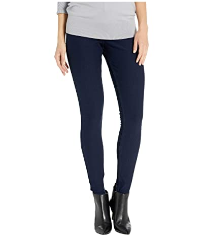 HUE Fleece Lined Denim Leggings (Ink Wash) Women