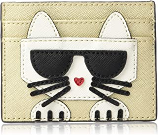 Karl Lagerfeld Paris womens Peeking Kitty Card Case