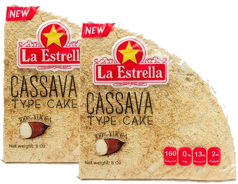 Outlet SALE OFFicial shop La Estrella Cassava Bread Casabe Pack of 2 oz 8