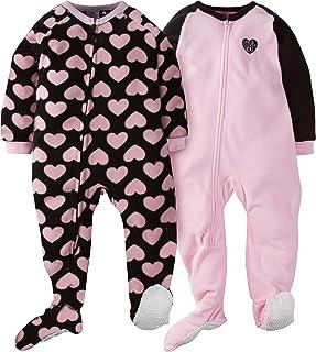 Gerber Girls' 2-Pack Blanket Sleeper