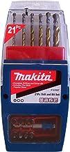Makita P-57087 Bohrer-and Bit-Satz 21-teilig, srebrny