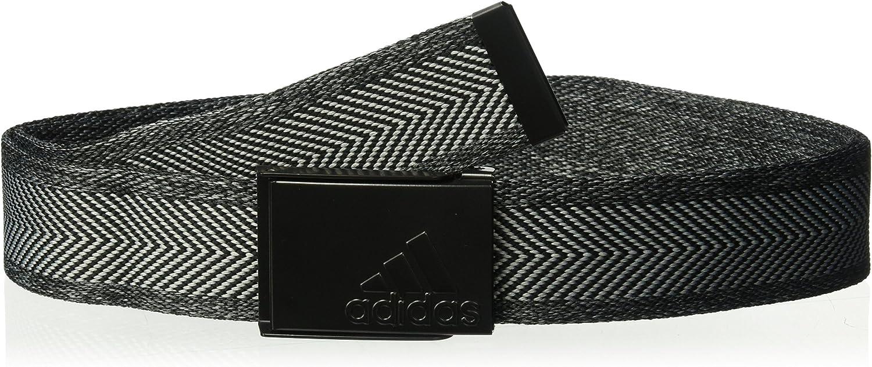 Adidas Mens Belt CY9739, Black Grey Heather, One Size
