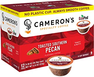 Cameron's Toasted Southern Pecan Coffee Capsule, Compatible with Keurig K-Cup Brewers, 12-Count