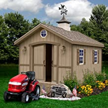 Best Barns Cambridge 10' X 12' Wood Shed Kit