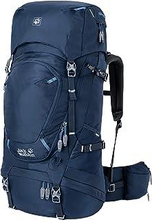Jack Wolfskin HIGHLAND TRAIL 55L DONNA Zaino con telaio interno con doppio accesso e parapioggia