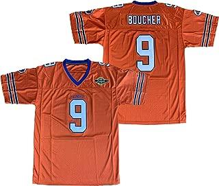 QCBW Mens Waterboy 9 Bobby Boucher 50th Anniversary Stitched Movie Football Jerseys S-XXXL