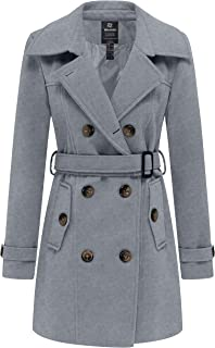 Best grey hooded trench coat Reviews