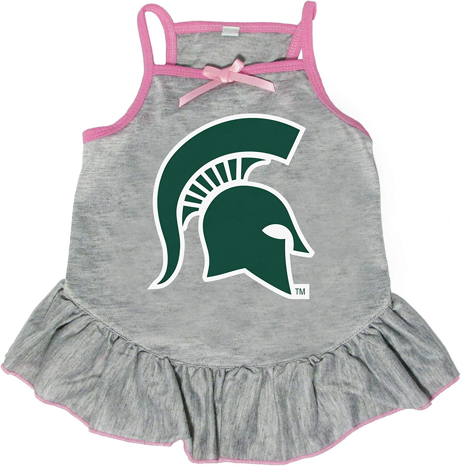 Sales for sale Littlearth NCAA Michigan State Pet Ranking TOP13 Spartans Dress Medium