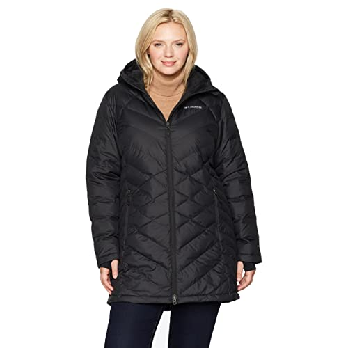 34477bf7731 Columbia Women s Heavenly Long Hooded Jacket - Plus Size